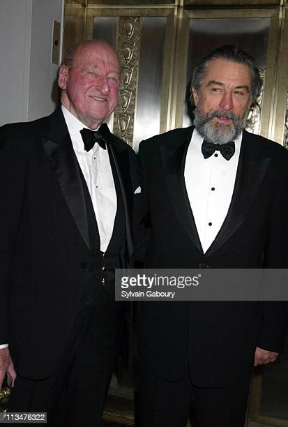 Osbourne Elliott Robert De Niro during Citizens Committee for NYC's New Yorkers for New York Awards at Waldorf Astoria in New York New York United...