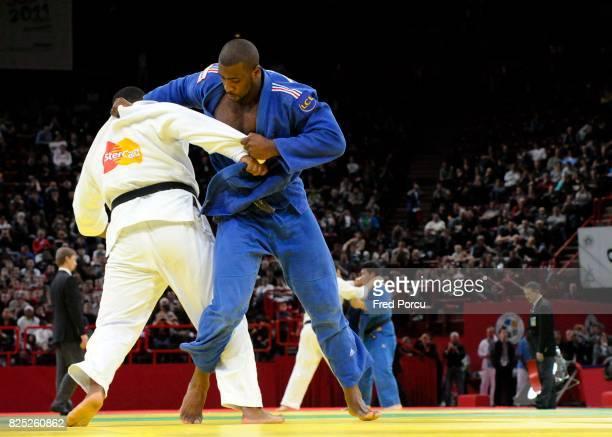 Oscar BRAYSON 100kg / Teddy RINER 100 kg Tournoi de Paris Judo Paris