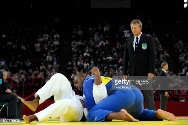 Oscar BRAYSON / Teddy RINER 100kg Tournoi de Paris Judo Paris