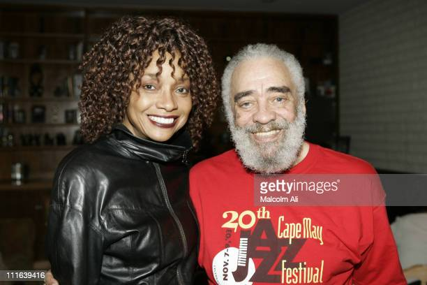 Oscar Brown Jr and Beverly Todd during Private Screening of the Documentary 'Music Is My Life Politics My Mistress The Oscar Brown Jr Story' at...