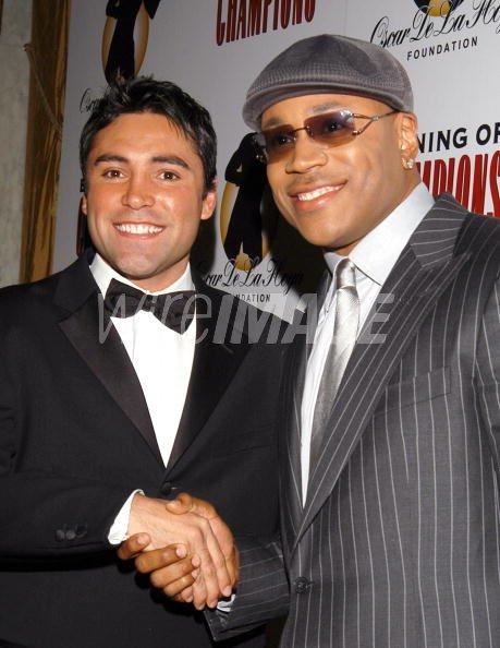 Oscar De La Hoya and...