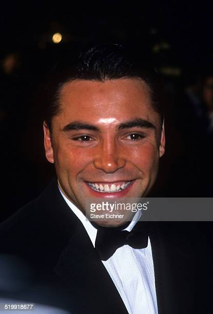 Oscar De La Hoya at GQ Man of the Year awards New York October 21 1999