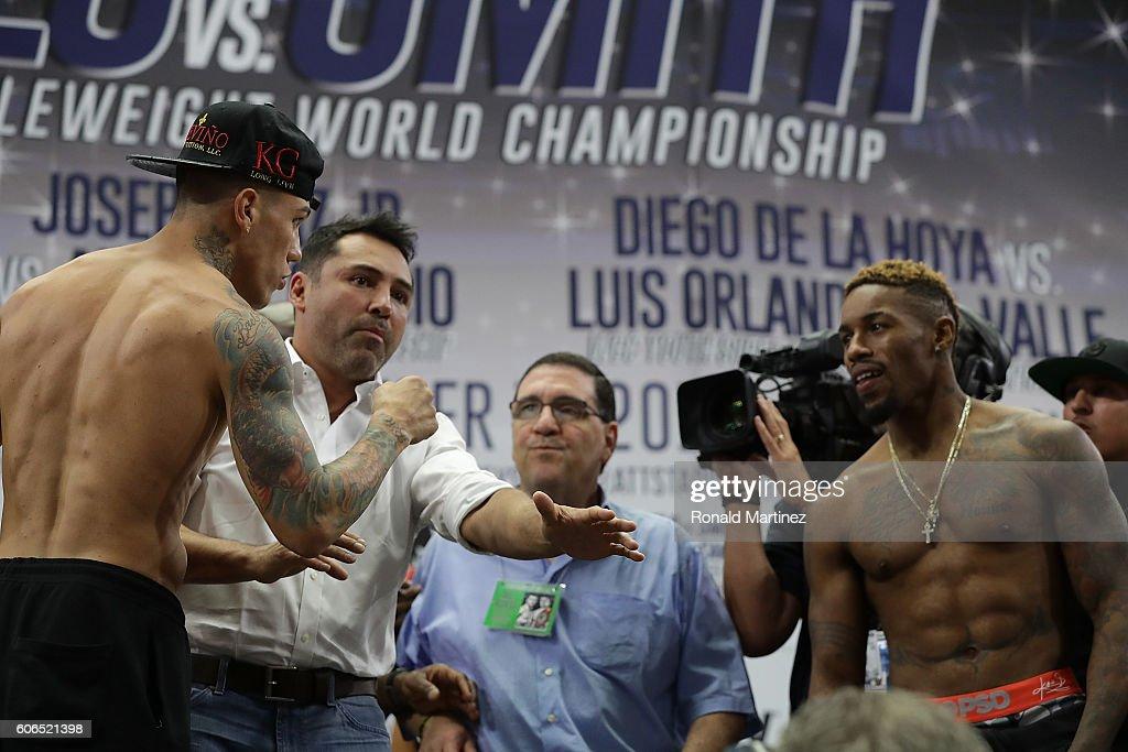 Canelo Alvarez v Liam Smith - Weigh-in