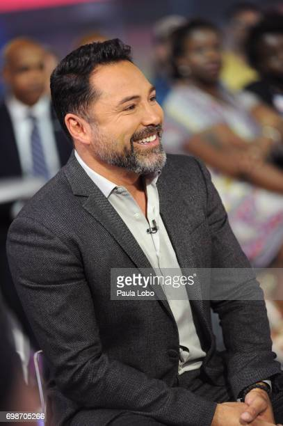 AMERICA Oscar De La Hoya is a guest on 'Good Morning America' Tuesday June 20 airing on the ABC Television Network OSCAR
