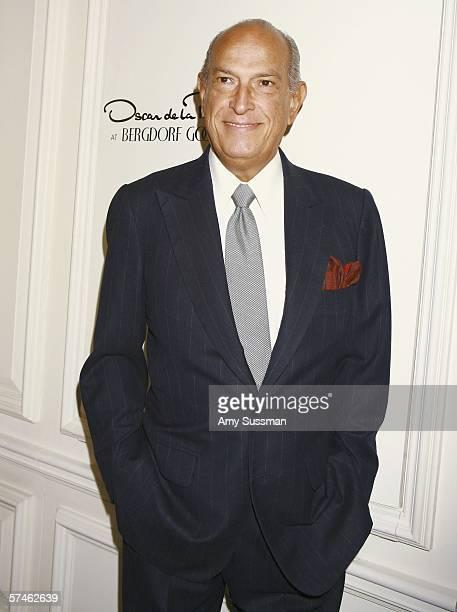Oscar de la Renta attends the celebration of Oscar de la Renta's 35th Anniversary at Bergdorf Goodman April 26 2006 in New York