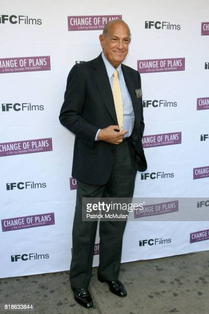 Oscar de la Renta attends The New York Premiere of 'CHANGE OF PLANS' at IFC Center on June 8 2010 in New York City