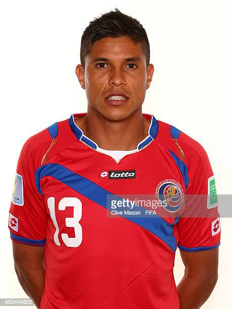 Oscar Granados of Costa Rica poses during the official FIFA World Cup 2014 portrait session on June 10 2014 in Sao Paulo Brazil