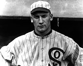 Oscar 'Happy' Felsch of the Chicago White Sox poses for a portrait before a game circa 1919 Felsch would be banned after the scandal of the 1919...