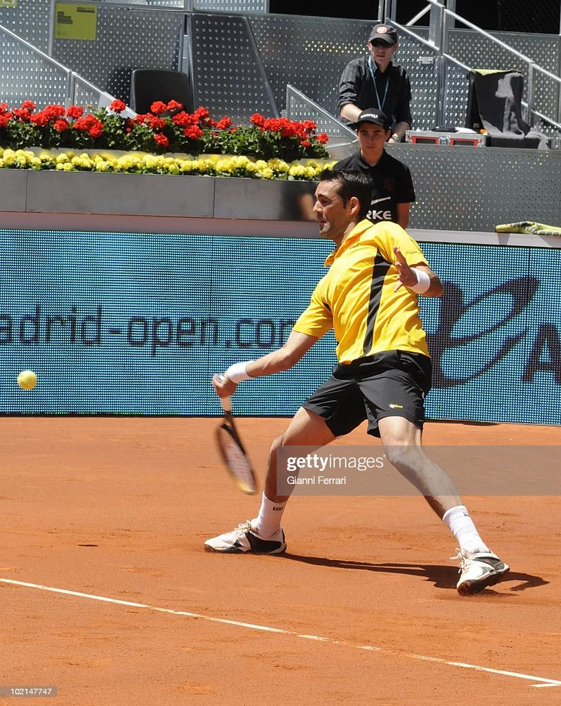 Oscar Hernandez, ESP, in 'Mutua Madrilena Madrid Open' of tennis, 8th May 2010, in 'La Caja Magica'. Madrid, Spain.