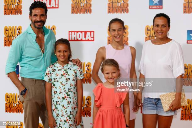 Oscar Higares attends the 'Despicable Me 3' premiere at Kinepolis cinema on June 22 2017 in Madrid SPAIN