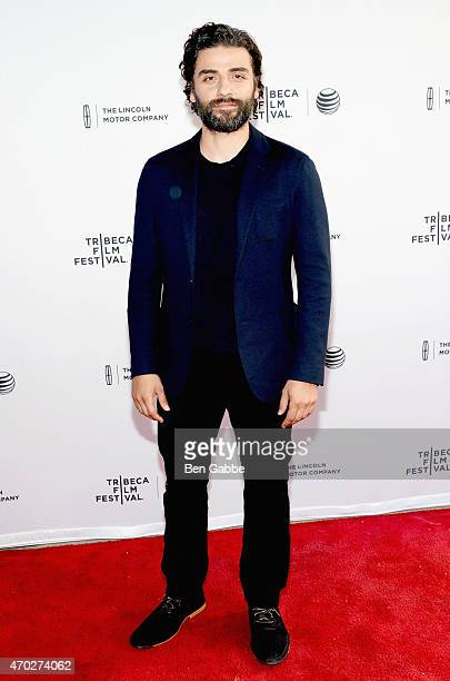 Oscar Isaac attends the premiere of 'Mojave' during the 2015 Tribeca Film Festival at the SVA Theater on April 18 2015 in New York City