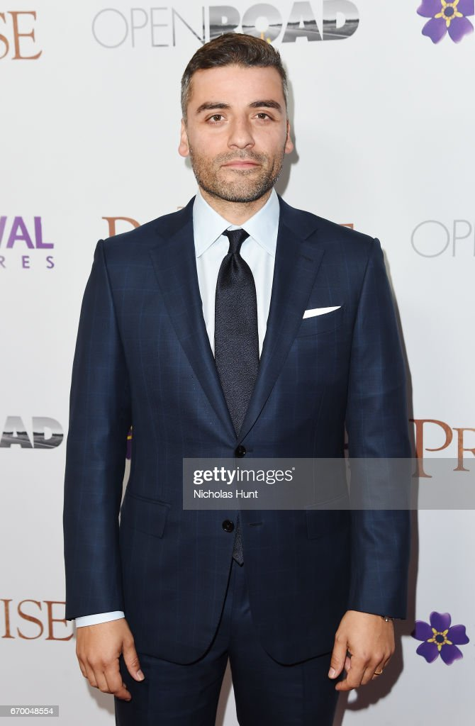 Oscar Issac attend the New York Screening of 'The Promise' at The Paris Theatre on April 18, 2017 in New York City.