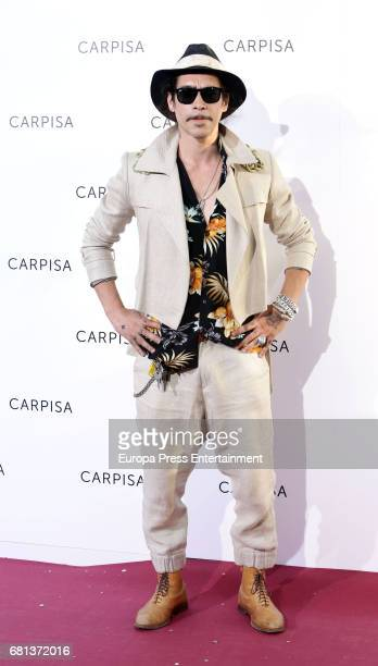 Oscar Jaenada attends the opening of new Carpisa stores on May 9 2017 in Madrid Spain