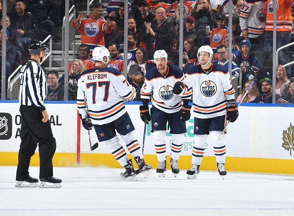 3e39d450a ... Vancouver Canucks v Edmonton Oilers Joseph Blandisi 64 of the New Jersey  ...