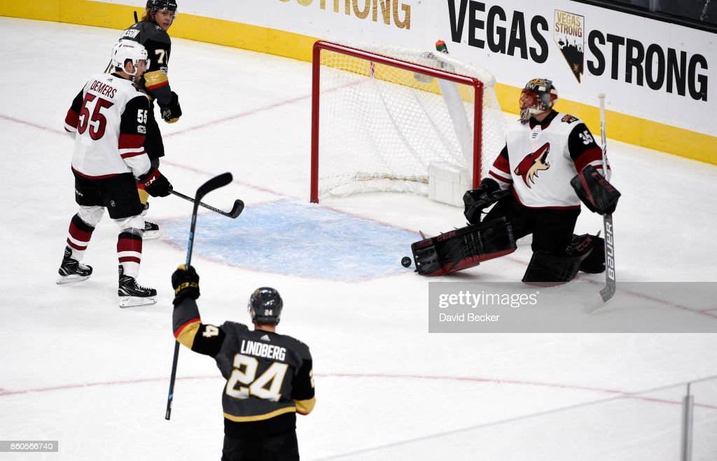 Arizona Coyotes v Vegas Golden Knights