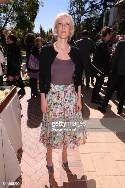 LOS Oscar Nominee Best Animated Short Film Pear Cider and Cigarettes Cara Speller attends the Canadian Brunch Reception Honoring Canadian Nominees...