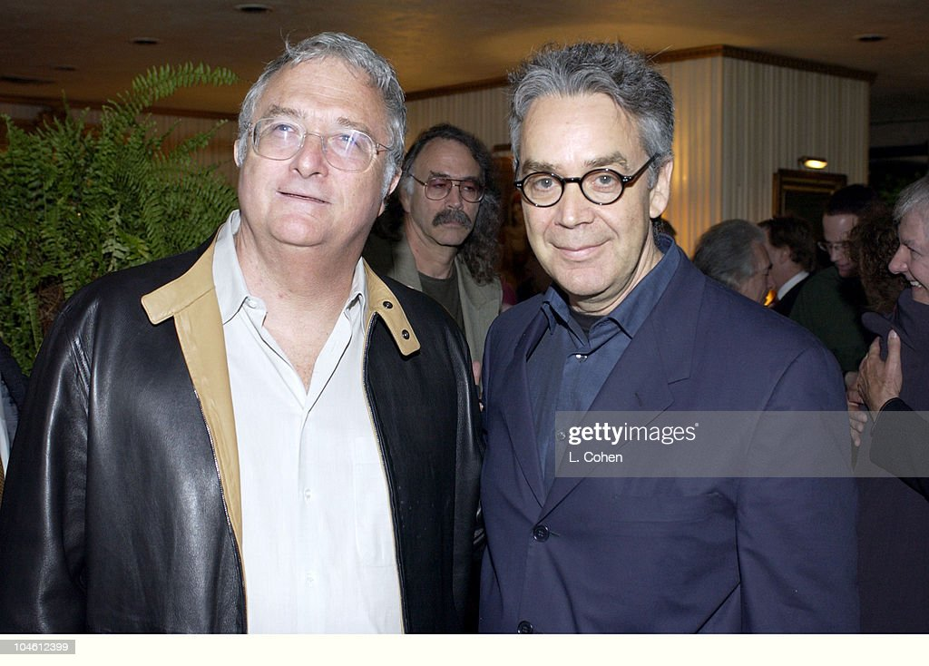 Oscar nominees Randy Newman & Howard Shore during S.C.L. Honors OSCAR's Music Nominees at Private Residence in Beverly Hills, California, United States.