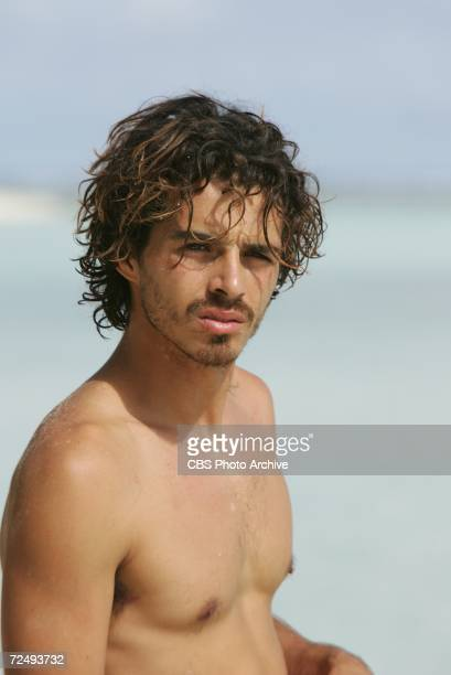 Oscar 'Ozzy' Lusth during the sixth episode of SURVIVOR COOK ISLANDS Thursdays on the CBS Television Network