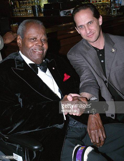 Oscar Peterson and David Grossman Executive Vice President of The Recording Academy