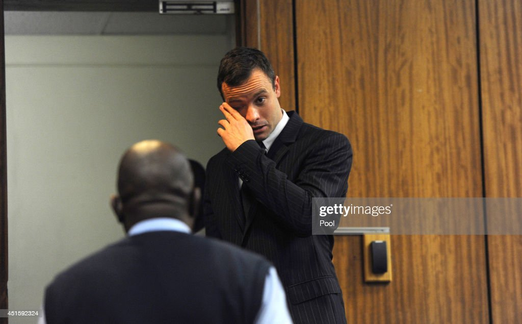 Oscar Pistorius arrives at the Pretoria High Court on July 2 in Pretoria South Africa Oscar Pistorius stands accused of the murder of his girlfriend...