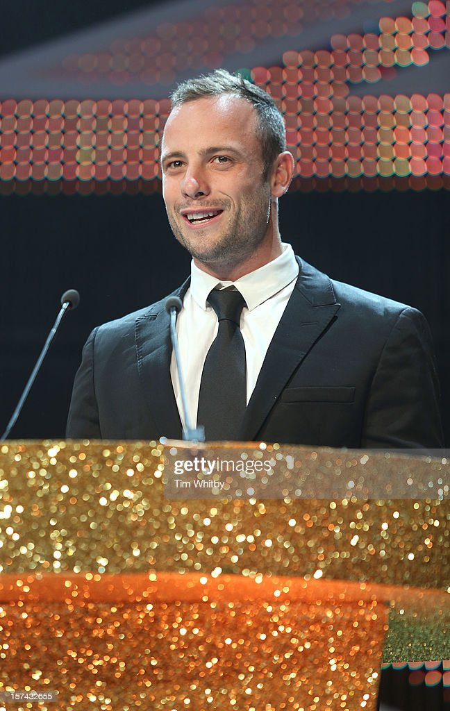 Oscar Pistorius attends the British Olympic Ball at the Grosvenor Hotel on November 30, 2012 in London, England.
