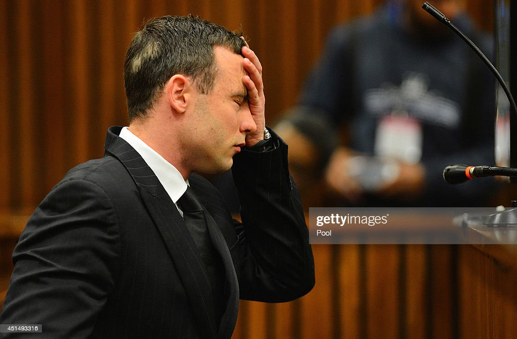 Oscar Pistorius listens to evidence in the Pretoria High Court on June 30 in Pretoria South Africa Oscar Pistorius stands accused of the murder of...
