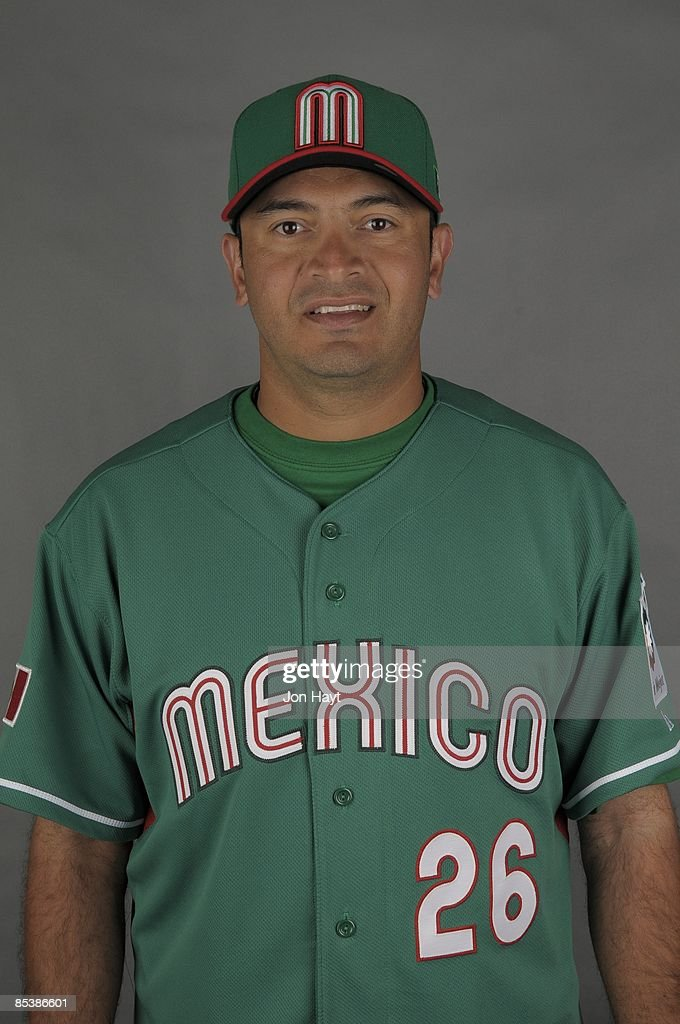 Oscar Robles of team Mexico poses during a 2009 World Baseball Classic Photo Day on Monday, March 2, 2009 in Tucson, Arizona.
