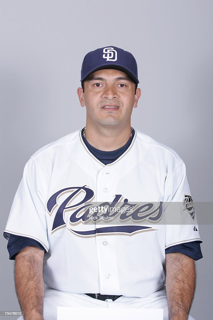 Oscar Robles of the San Diego Padres poses during photo day at Peoria Stadium on February 23, 2007 in Peoria, Arizona.