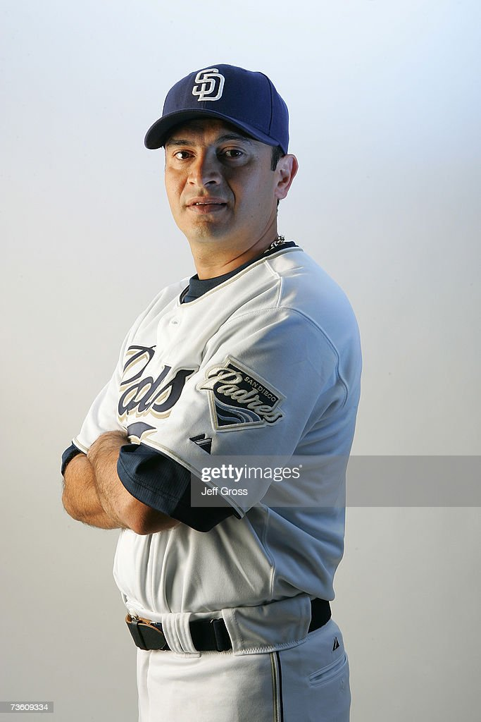 Oscar Robles of the San Diego Padres poses for a portrait during San Diego Padres Photo Day at the Peoria Sports Complex on February 23, 2007 in Peoria, Arizona.