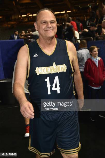 Oscar Schmidt attends the 2017 NBA AllStar Celebrity Game at MercedesBenz Superdome on February 17 2017 in New Orleans Louisiana