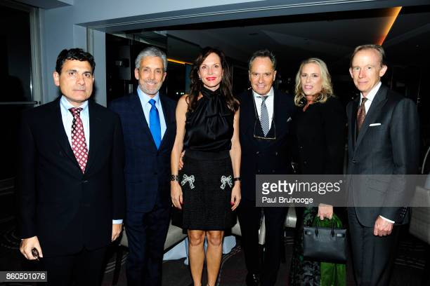 Oscar Shamamian Charles S Cohen Clo Cohen Lee Mindel Victoria Hagan and Mark Ferguson attend the Decoration and Design Building celebrates the 2017...
