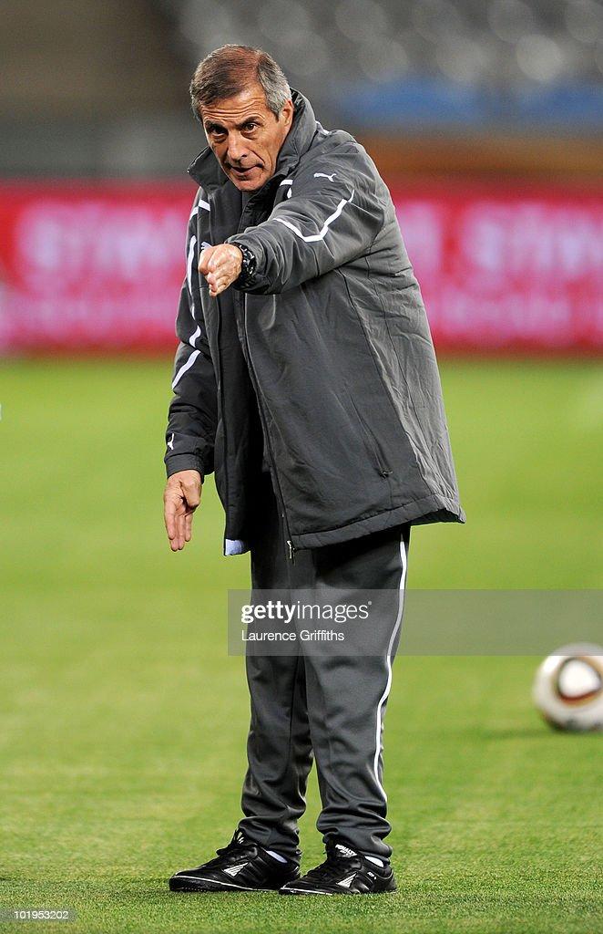 Uruguay Training Session-2010 FIFA World Cup
