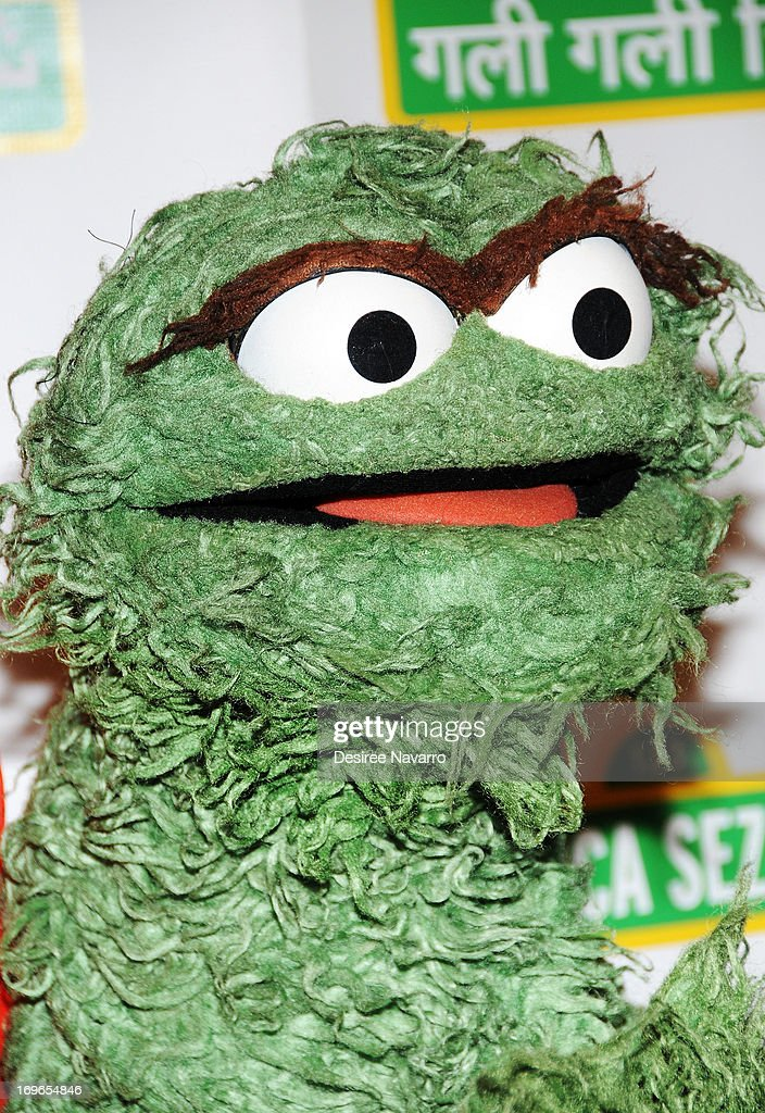 Oscar the Grouch attends the 11th annual Sesame Street Workshop Benefit Gala at Cipriani 42nd Street on May 29, 2013 in New York City.