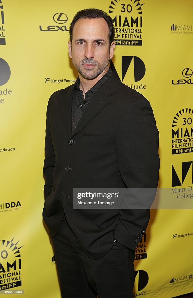 Oscar Torre attends 'Eenie Meenie Miney Moe' Premiere during the 2013 Miami International Film Festival at Gusman Center for the Performing Arts on March 7, 2013 in Miami, Florida.