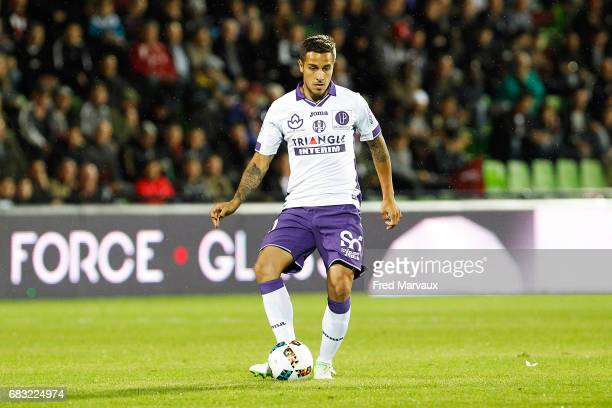 Oscar Trejo of Toulouse during the Ligue 1 match between FC Metz and Toulouse FC at Stade SaintSymphorien on May 14 2017 in Metz France