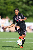 Oscar Trejo of Toulouse during the Pre season friendly match between Toulouse Fc and Osasuna on July 22 2016 in Hendaye France
