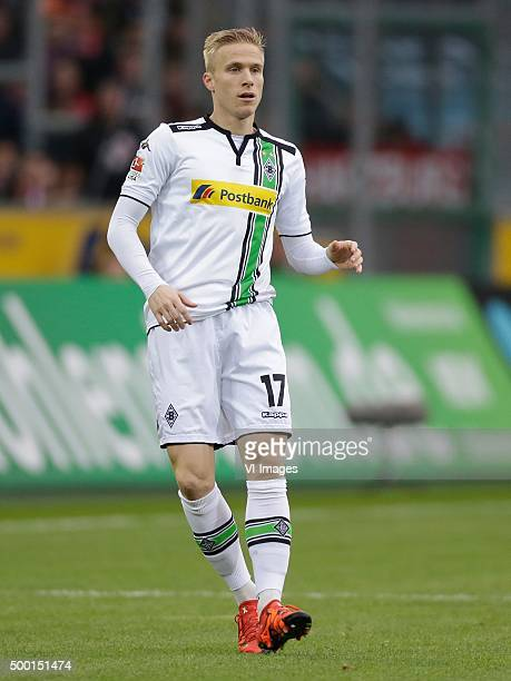Oscar Wendt of Borussia Monchengladbach during the Bundesliga match between Borussia M#246nchengladbach and Bayern M#252nchen on December 5 2015 at...