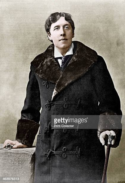 Oscar WiIde Irish writer wit and playwright c1890 Wilde was an exponent of art for art's sake His best known novel is The Picture of Dorian Gray He...