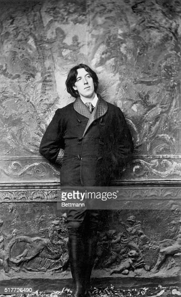 Oscar Wilde Irish poet and dramatist Photo by Sarony