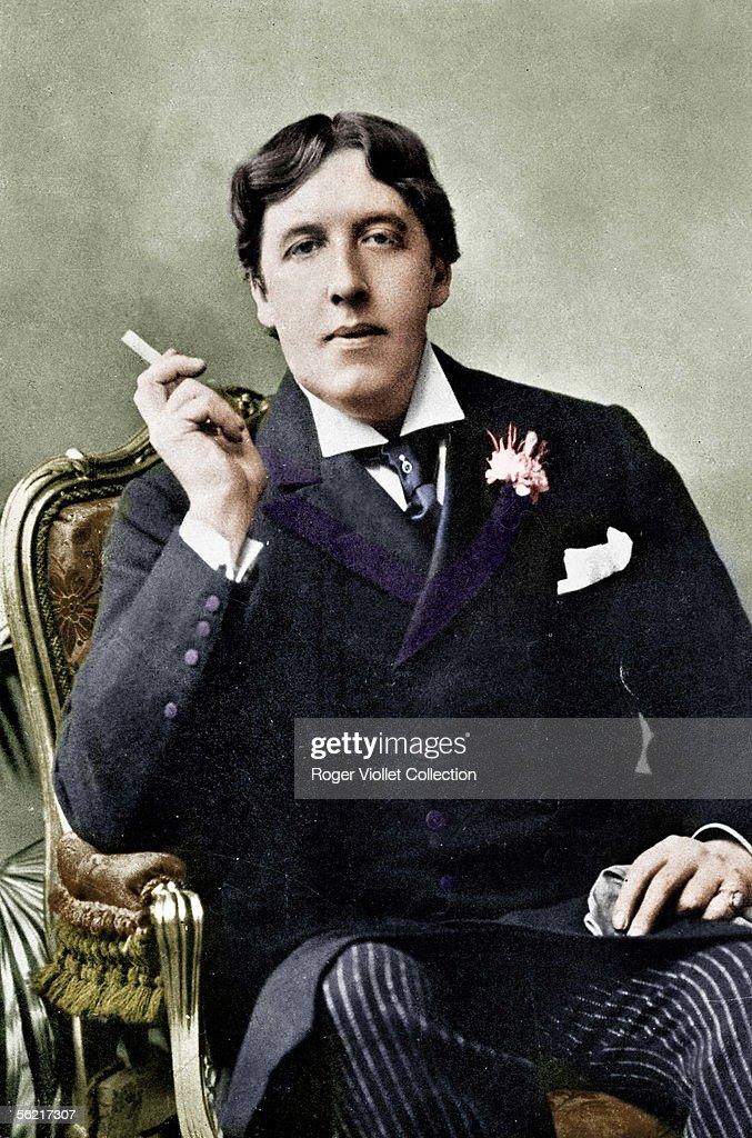 <a gi-track='captionPersonalityLinkClicked' href=/galleries/search?phrase=Oscar+Wilde&family=editorial&specificpeople=240419 ng-click='$event.stopPropagation()'>Oscar Wilde</a> (1854-1900), Irish writer. Colourized photo.