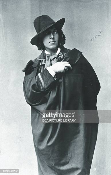 Oscar Wilde Irish writer in New York in January 1882 Washington Library Of Congress