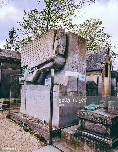 Oscar Wilde's Tomb in Paris, France