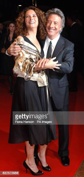 Oscar winning actor Dustin Hoffman and wife Lisa at the Leicester Square UK premiere of Stranger Than Fiction in which he stars PRESS ASSOCIATION...