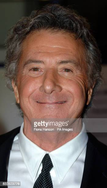 Oscar winning actor Dustin Hoffman at the Leicester Square UK premiere of Stranger Than Fiction in which he stas PRESS ASSOCIATION Photo Picture date...