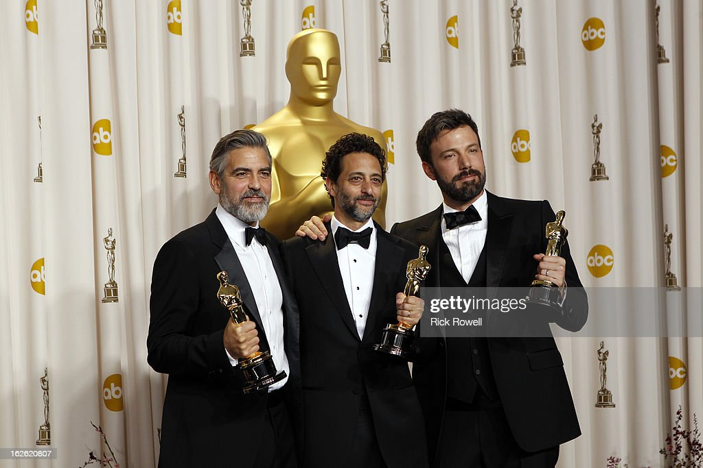AWARDS(r) - GENERAL - Oscars(r) for outstanding film achievements of 2012 are being presented on Oscar Sunday, February 24 (8:30 p.m., ET/5:30 p.m., PT), at the Dolby Theatre(tm) at Hollywood & Highland Center(r), live on the ABC Television Network. ((ABC/Rick Rowell ABC/ via Getty Images)) AFFLECK