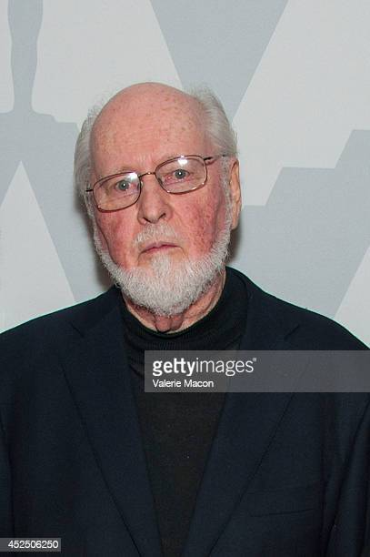 Oscarwinning composer John Williams arrives at The Academy Of Motion Picture Arts And Sciences' Presents 'Behind The Score The Art Of The Film...
