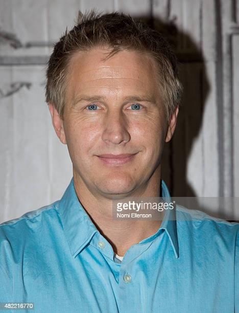 Oscarwinning filmmaker Daniel Junge attends AOL Build Presents 'A LEGO Brickumentary' at AOL Studios In New York on July 28 2015 in New York City