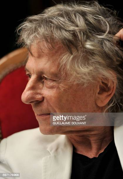Oscarwinning PolishFrench director Roman Polanski attends the 21th book fair 'The book forest' on August 28 2016 in ChanceauxprèsLoches central...