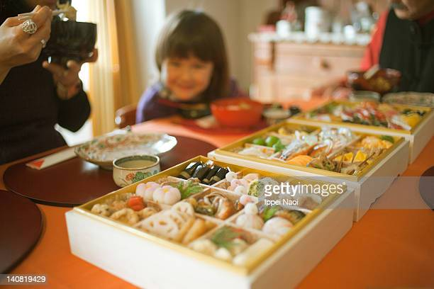 Osechi, Japanese new year's day morning feast