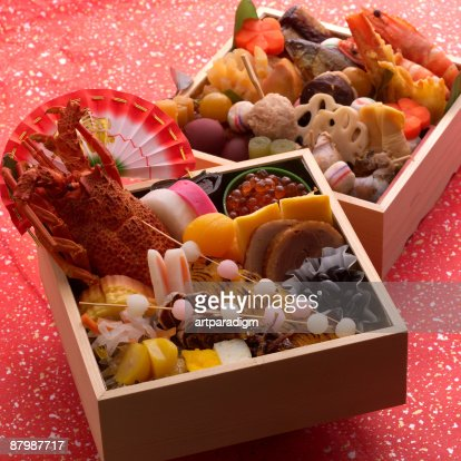 Osechi ryori imagens e fotografias de stock getty images for Ancient japanese cuisine